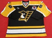 Authentic Russian Penguins TOP QUALITY Jersey-66/Lemieux/NEW/FREE SHIPPING IN US