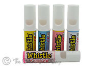 SWIZZELS MATLOW: WHISTLES FRUIT FLAVOUR CHALK CANDY SWEETS