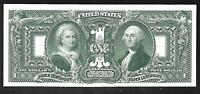 Proof Print by the BEP - 1896 $1 Silver Certificate