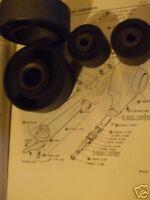 (x4) JAGUAR XJ6 XJ12 XJS MkX Mk10 420 S E Type REAR RADIUS ARM BUSHES BUSH SET