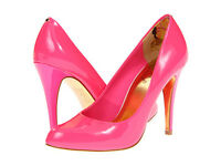Ted Baker NEW Leather Pink JAXINE 3 Pumps High Heels Shoes Womens Choose Size