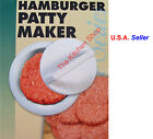 Hamburger Patty Maker Burger Press Meat Mold Ground Beef Presses FREE SHIPPING