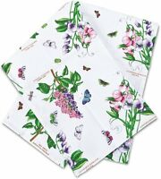 PORTMEIRION BOTANIC GARDEN TEA TOWEL (BY PIMPERNEL) NEW