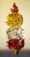 30 Inch Red/Gold/Silver Hanging Foil Christmas Decoration (MI117)