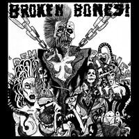 BROKEN BONES 'Dem Bones' hardcore punk LP vinyl gatefold new sealed Discharge
