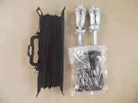 50 meter Motherline Kit with 2 Anchors For Duck & Goose Decoys   165 ft Long