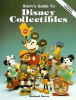 """STERN """"STERN'S GUIDE TO DISNEY COLLECTIBLES"""" 1989 1ST PB ED VG+ 162 COLOR PLATES"""