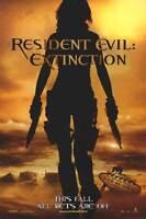 Resident Evil : Extinction Adv  Movie Poster Dbl Sided
