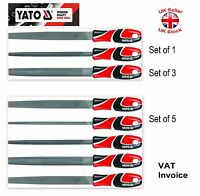 "Yato Professional Metal Long 250mm(10"") File Set 3 or 5 pcs T12 Steel YT-6237-9"