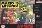 Mario is Missing (Super Nintendo, 1993)