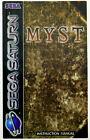 Myst - SEGA Saturn PAL - nur CD + Anleitung