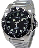 Seiko Men's Kinetic Black Diver's 200m Watch Ska371 Ska371p1   WARRANTY&GIFT BOX