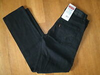 Boys Levi's 511 Skinny Slim Leg Jeans Sits Below Waist Skinny Fit Black New