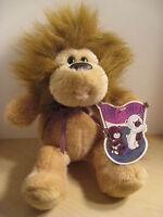 "Commonwealth 12"" Stuffed Hug-A-Plush Lion 1990"