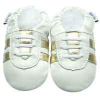 Freeship Littleoneshoes Soft Sole Leather Baby Shoes SportWhite 24-30M