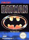 Batman: The Video Game (Nintendo Entertainment System, 1990)