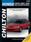 30202 New Chilton Repair Manual Honda Civic,Del Sol 1996-00