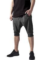 Urban Classics Deep Crotch Sweatshorts Sweat Shorts kurze Sommer Jogging Hose