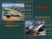 2 DVD Set Kamikaze & Captured Japanese Aircraft films WW2