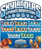 Skylanders Spyro's Adventure Single Character Figure Packs NEW SEALED