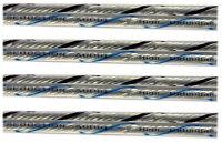 Audiophile HIGH DEFINITION Silver Speaker Jumper Cables