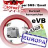 Kurzzeitkennzeichen 1 Tag Versicherung für Anhänger Ausland Kurzkennzeichen IVK