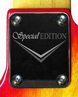Neck Plate Neckplate Chrome Fender Strat Tele P Bass J Bass Guitar Special Ed