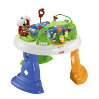 FISHER PRICE TWIRLIN WHIRLIN ENTERTAINER BABY JUMPER NEW
