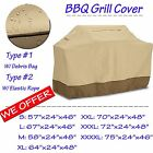 Quality Waterproof 210D BBQ Grill Cover Gas Barbecue Heavy Duty 3 Designs NEW EM
