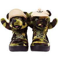ADIDAS JS CAMO BEAR TRAINERS BY JEREMY SCOTT OBYO LIMITED EDITION!!!!