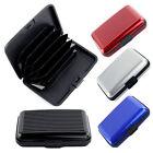 Fashion Aluminum Metal ID Credit Card Holder for 6 Cards storage Organizer Bag