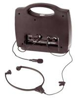 GEEMARC LOOPHEAR PORTABLE  AMPLIFIED INDUCTION LOOP SYSTEM-FOR T-COIL & COCHLEAR
