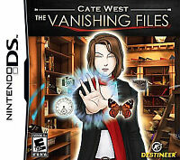 Cate West: The Vanishing Files (Nintendo DS, 2008)