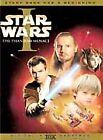 Star Wars Episode I: The Phantom Menace (DVD, 2001, 2-Disc Set, English and Spanish Versions)