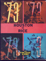 1973 Rice Owls v Houston Cougars Football Program