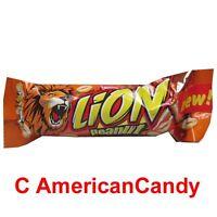 24x LION Peanut (Schokoladenriegel mit Erdnussbuttercreme und Erdnüssen)