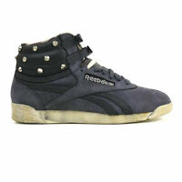 REEBOK F/S FREESTYLE HI BLACK/PAPER WHITE SIZE 5 6 7 WOMENS TRAINERS HIGH TOPS