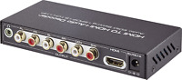 SpeaKa Professional HDMI Audio Extractor mit Toslink und 6 Kanal (5.1) Cinch Aus