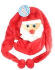 Christmas Novelty Adult Santa Claus Face Festive Hat Accessory