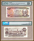 Rare 1975 $100 AJX Replacement Bank of Canada Note Lawson/Bouey; PMG VF25