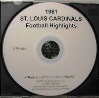 1961 St. Louis Football Cardinals NFL Season Highlights