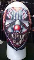Winter Gear Full Face Mask Neoprene- Smoking Clown