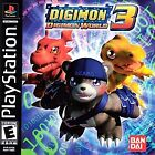 Digimon World 3 (Sony PlayStation 1, 2002) (Game Only ) Disk Only