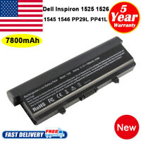9Cell Laptop Battery for Dell Inspiron 1525 1526 1440 1545 1546 1750 GW240 RN873