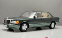 Norev 1:18 Benz S Class W126 560SEL Die Cast Model Green