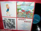 AMEDEO MINGHI Cuori di pace LP 1989 Italy Pop MINT- Art Cover ANDREA PAZIENZA
