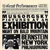 MUSSORGSKY: PICTURES AT AN EXHIBITION; NIGHT ON BALD MOUNTAIN CD  BRAND NEW