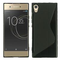 "Housse Etui Coque TPU Silicone Gel S-Line pour Sony Xperia XA1 5.0""/ XA1 Dual"