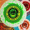 SPITFIRE WHEELS Adhesivo De Skateboard Psycho Espiral/Llama Logotipos De Cabeza