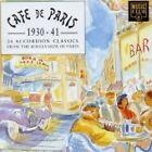 Cafe de Paris 1930-41: 24 Accordion Classics, Various Artists, Very Good CD